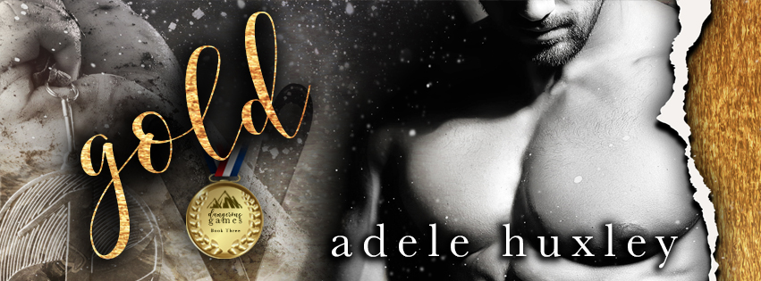 Gold Adele Huxley Banner